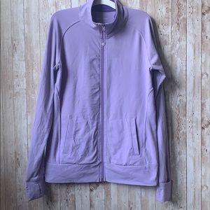 Tuff Athletics Lavender Zip Up